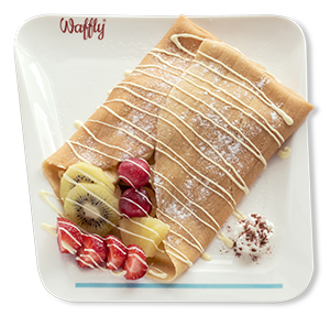 Double Fruit Crepe